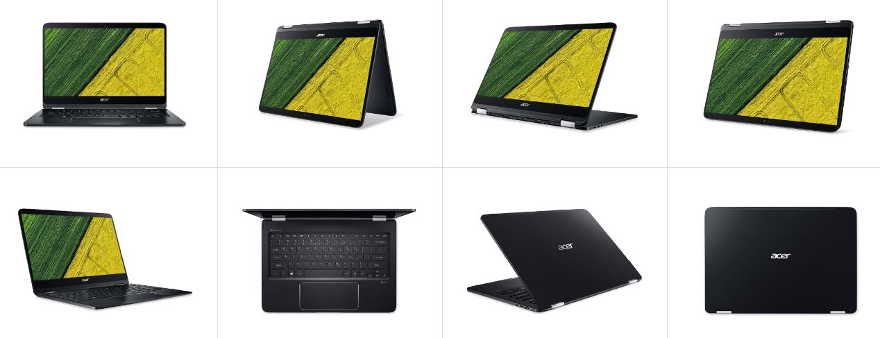 Acer Convertible Laptops Spin 7 Spin 5 And Spin 3 Now