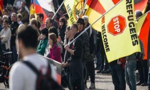مظاهرات عنصرية فى المانيا ضد الاسلام والمسلمين