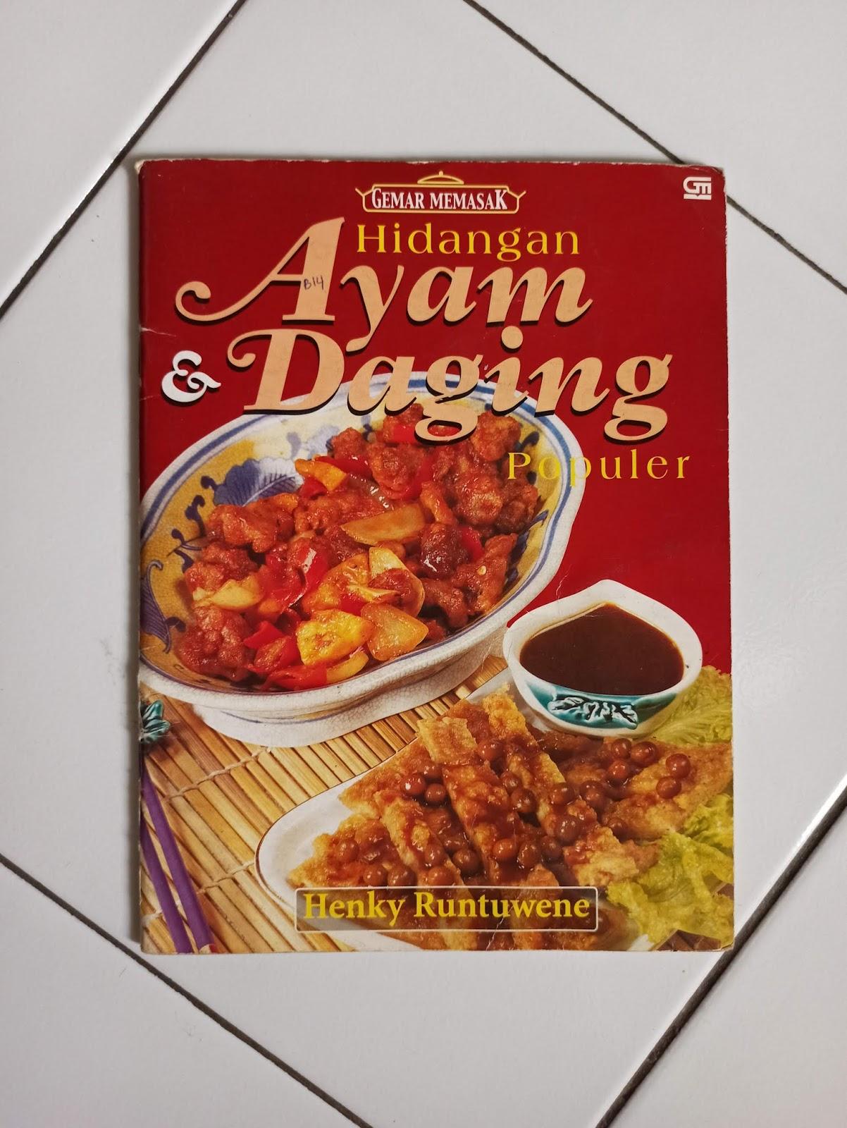 Buku Bekas Seri Gemar Memasak Hidangan Ayam & Daging Populer