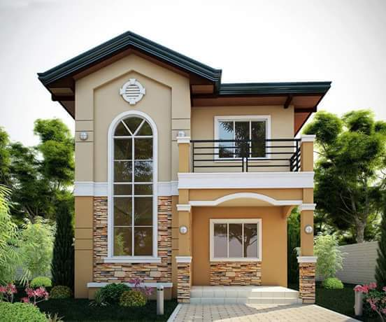 2 storey house designs philippines House design