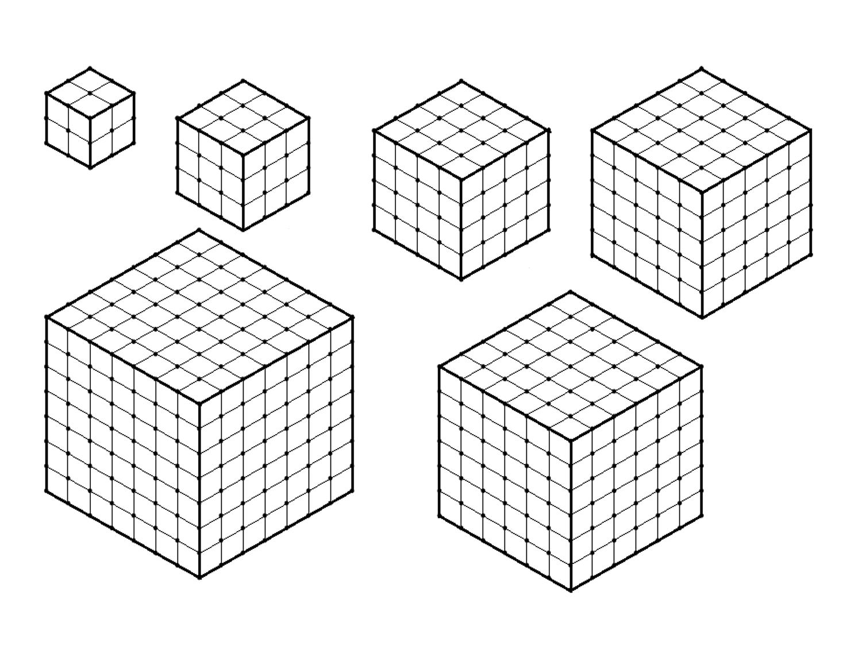 MEDIAN Don Steward mathematics teaching: cube number