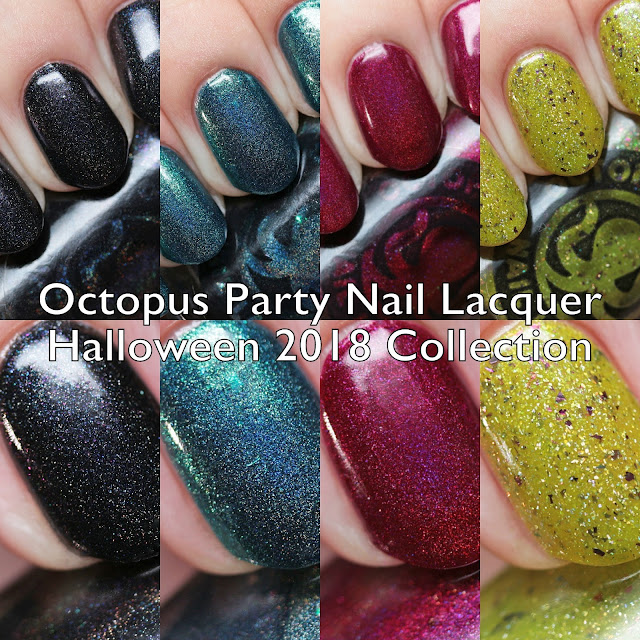 Octopus Party Nail Lacquer Halloween 2018 Collection