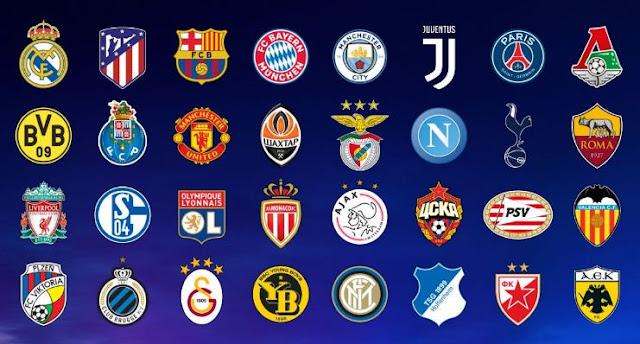 Hasil Undian Grup Liga Champions 2018-2019