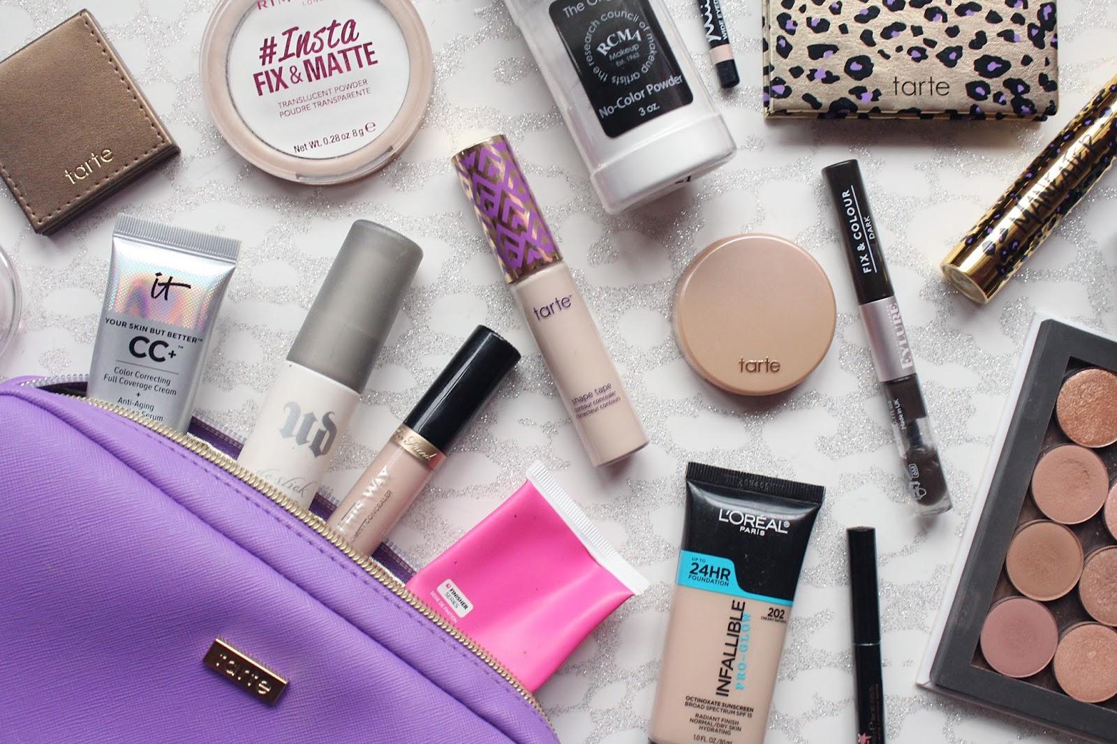Inside My Travel Makeup Bag