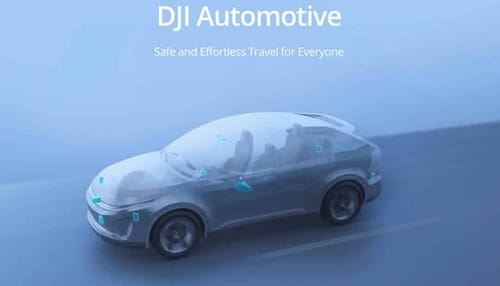 DJI enters the world of self-driving cars with DJI Automotive