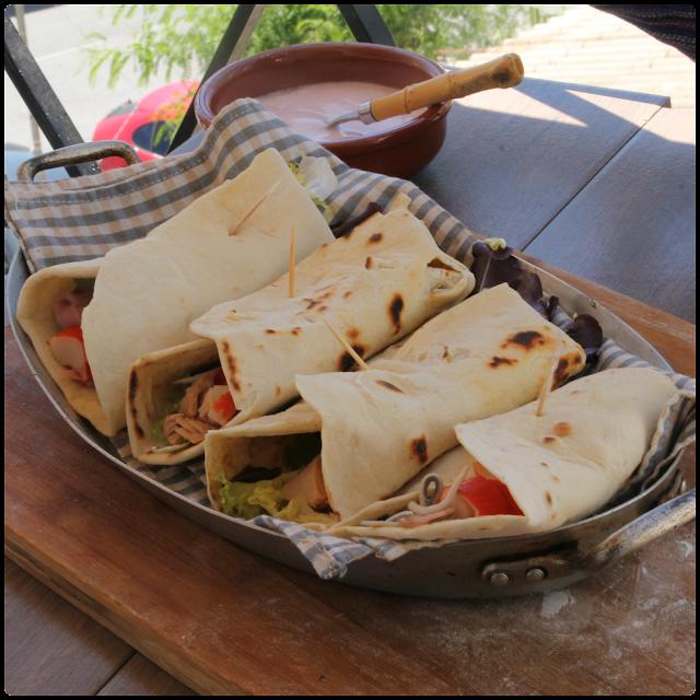 Wraps Vegetales