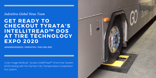 Cover Image Attribute: Tyrata's IntelliTread™ Drive-Over System (DOS) testing with the Durham City Transportation Corporation bus system.