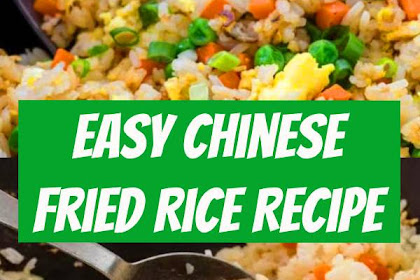 Easy Chinese Fried Rice Recipe #friedrice #chinesefood