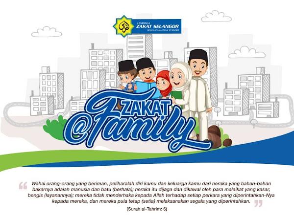 Zakat@Family LZS Bantu Lengkapkan Tanggungjawab Ketua Keluarga.