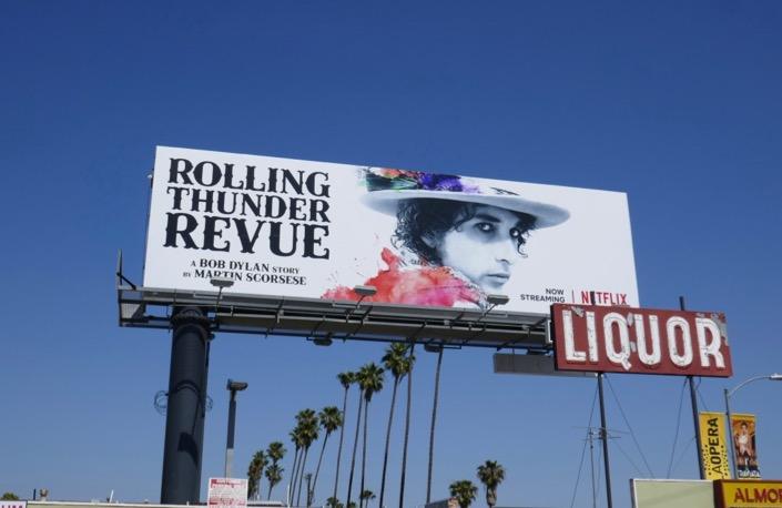 Bob Dylan Rolling Thunder Revue Netflix billboard
