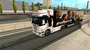 Paul Walker pack for Scania RJL (EviL)