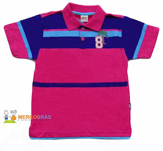 Polo infantil no atacado