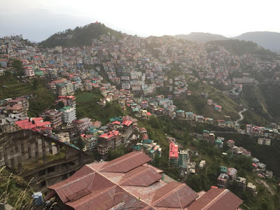 the hill city  Shimla