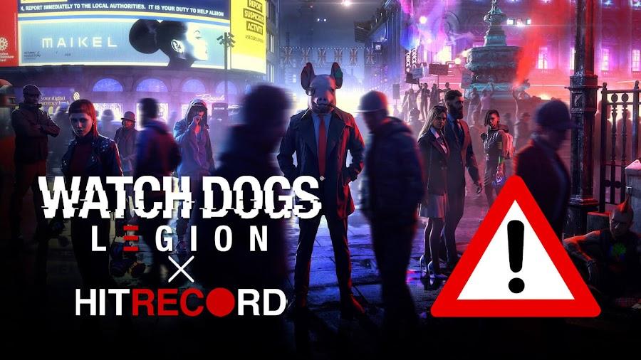 watch dogs legion hitrecord ubisoft wage no spec controversy