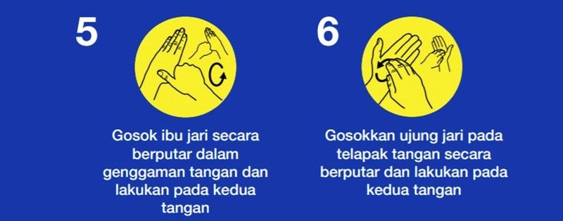 cara cuci tangan dengan sabun 3