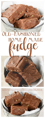Old Fashioned Homemade Chocolate Fudge Recipe
