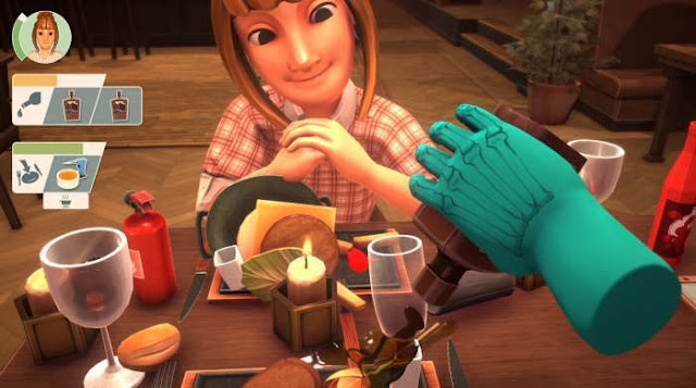 Table Manners Physics-Based Dating Game is a humorous and arcade dating simulator, the success of which depends on the effectiveness of our hands.