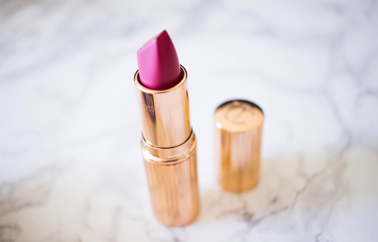 Charlotte Tilbury lipstick in Amazing Grace, Lipstick, Katie Writes, Beauty blog,