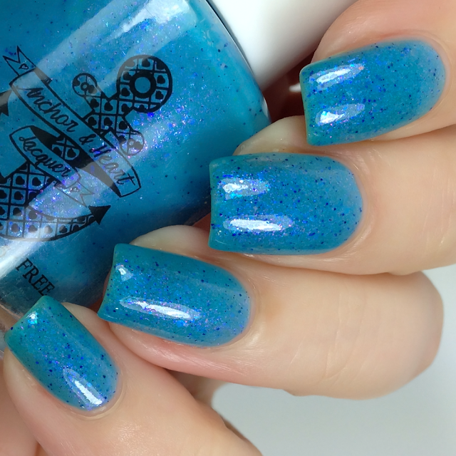 Anchor & Heart Lacquer-Pretty When Stressed