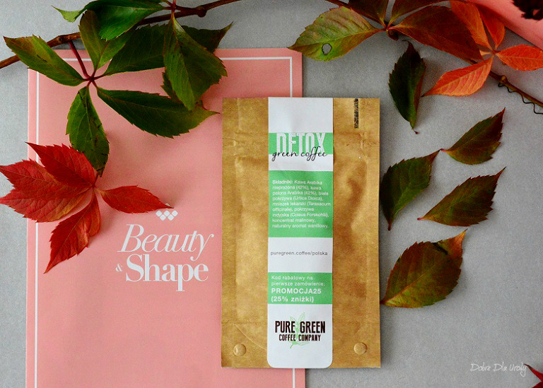 ExtraBox Beauty&Shape by ShinyBox - Pure Green Coffee Detox Green Coffe Kawa odchudzająca