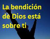 Dios te bendice y te concede lugares de privilegio
