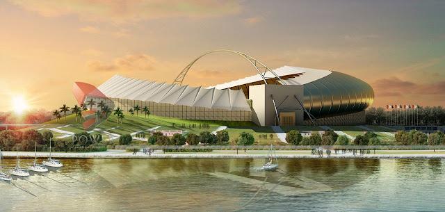 3D Rendering Exterior Project Stadium