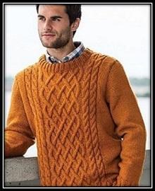 pulover svyazannii spicami (32)