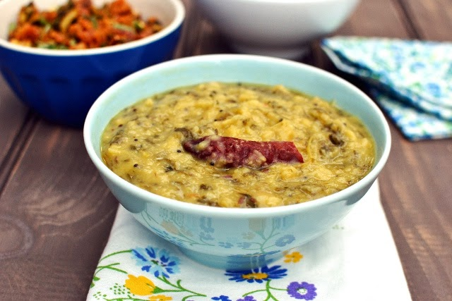 Menthi kura Pappu (Dal with fenugreek leaves)