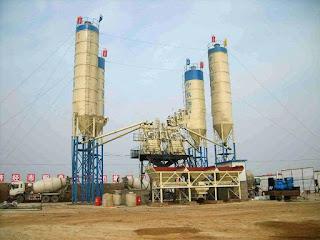 HZS50(50m3) concrete batching plant