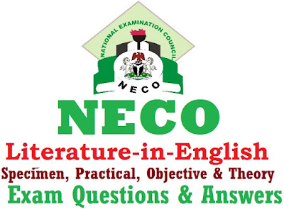 questions on literature neco 2014