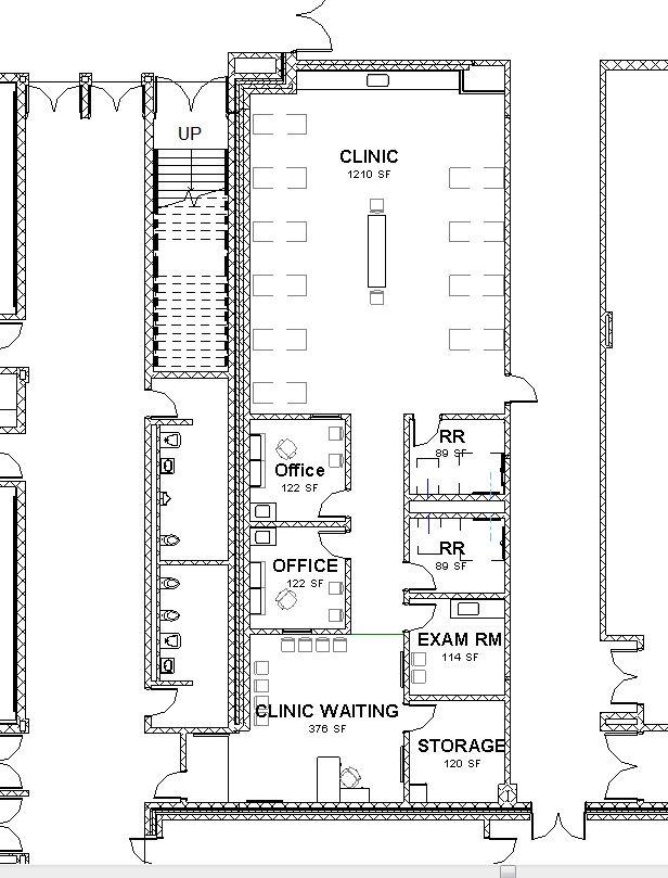 Lake Central High School Room Concepts: Nurse