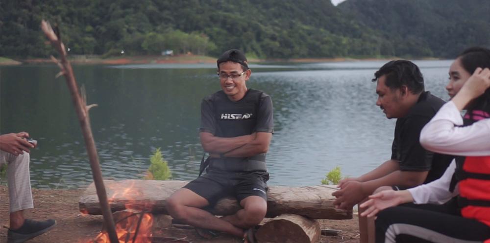 Asiknya Berenang di Talau Pusako, Wisata Air Alami di Kampar Riau