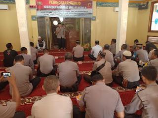 Sholawat Bersama Polres Majalengka peringati maulid Nabi  Muhammad SAW 1441 H