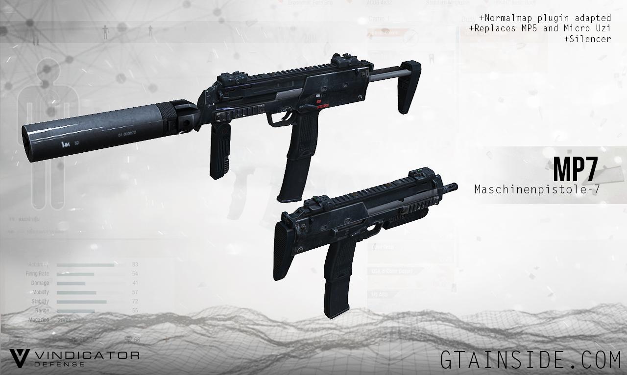 REL]MP7 ~ Vindicator Defense