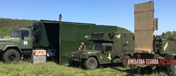 В Україні створили мобільні центри обслуговування американських контрбатарейних РЛС