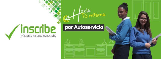 Inscripciones Régimen Sierra Amazonía 2017 2018 Ministerio de Educación