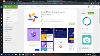 earn from Task mate app