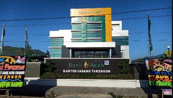Alamat Lengkap dan Nomor Telepon Kantor Bank Aceh di Aceh Tengah