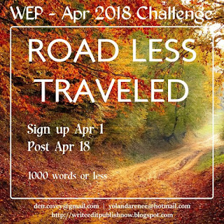 WEP write edit publish flash fiction challenge April 2018 #wep #wepff on #atozchallenge