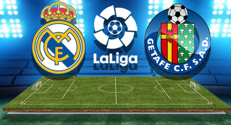 Watch the Real Madrid and Getafe match broadcast live today: