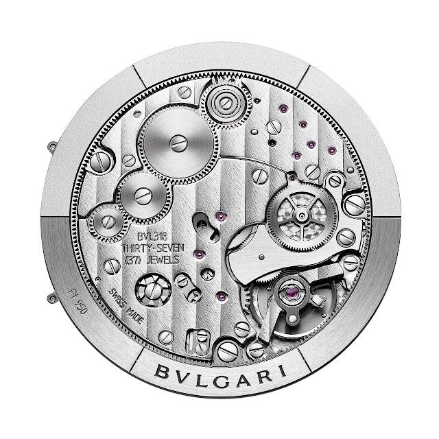 Bulgari Calibre 318