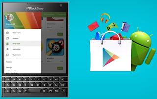 Installez Play Store sur BlackBerry