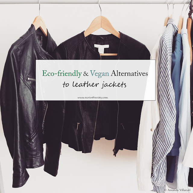 Eco-friendly and vegan alternatives to leather jackets
