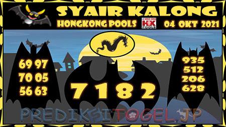 Kalong HK Senin 04 Oktober 2021 -