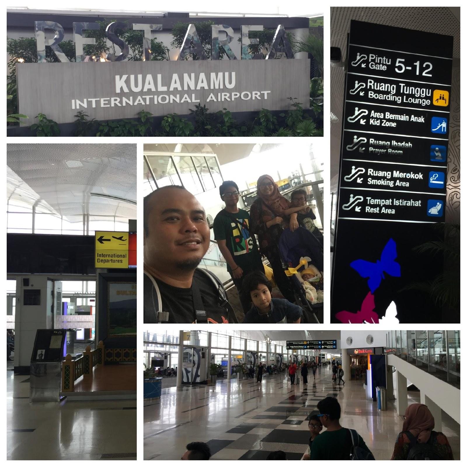 Mencari Gate 1 di hujung terminal