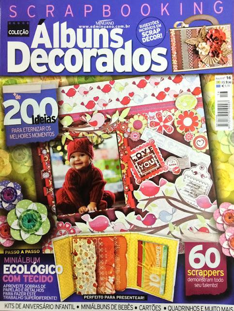 tk scrapbook na álbuns decorados