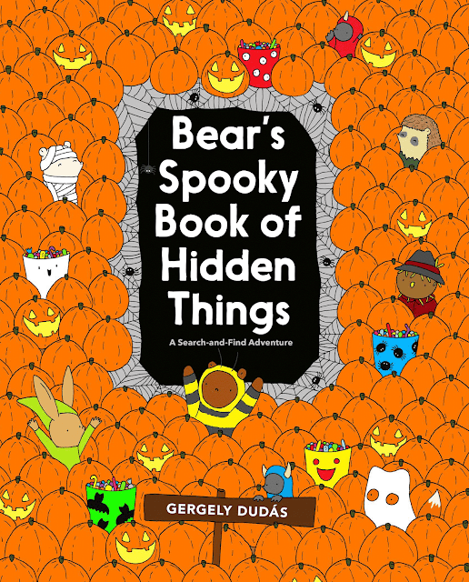 Cover reveal! Bear's Spooky Book of Hidden Things