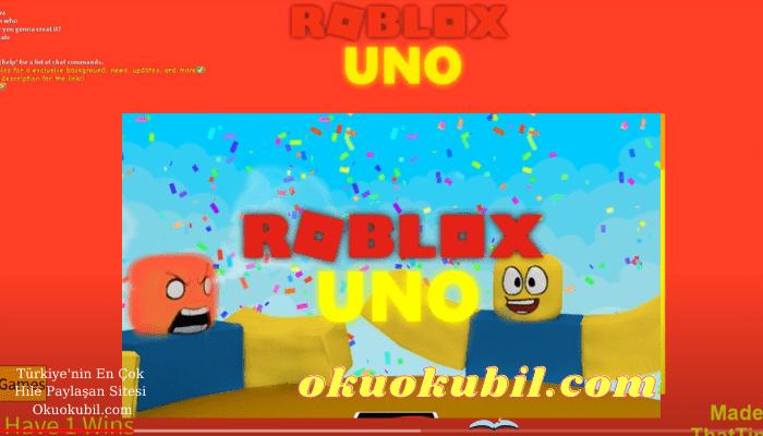 ROBLOX Yeni Uno AI Auto Play script Kart Hilesi İndir