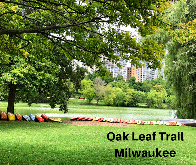 Hiking Around Milwaukee on the Oak Leaf Trail