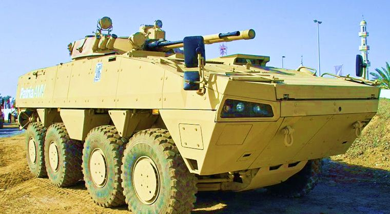 Al Wahash IFV with BMP-3 Cannon
